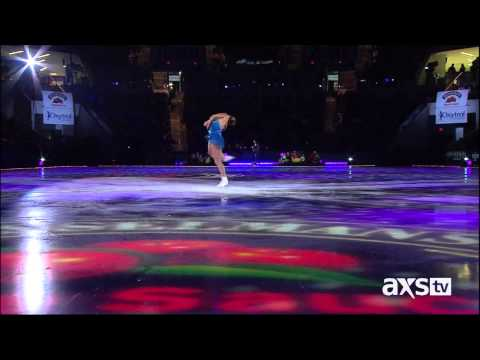 Sara Evans - I Could Not Ask For More & Born To Fly - Family Skating Tribute
