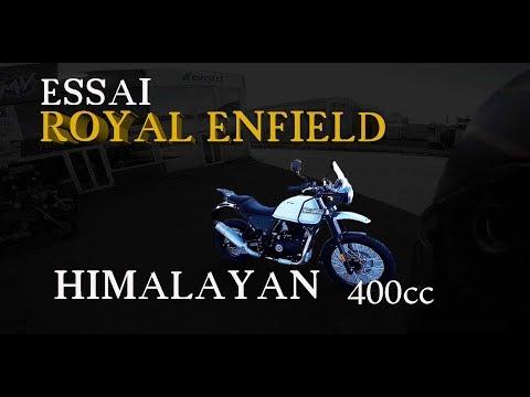 Fabike #Essai Royal Enfield himalayan 411cc