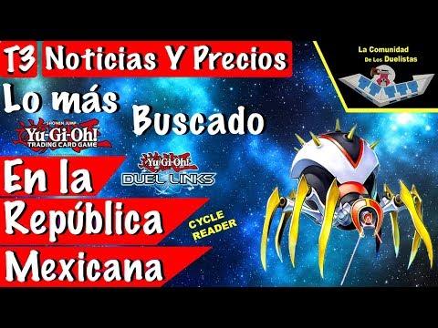 Yu-Gi-Oh! Noticias y Lo más buscado en la República Mexicana del 6 al 12 de Enero del 2018