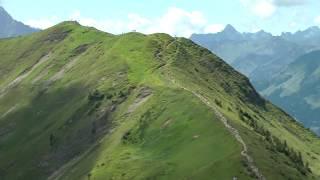 Söllereck-Fellhorn Wandern Oberstdorf Gratweg über Fellhorn und Söllereck