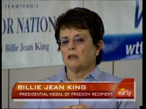 Billie Jean King Honored
