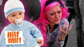 Reborn-Baby: Realisiert Linda, dass ihr Baby nur eine Plastikpuppe ist? PART II | Hilf Mir!