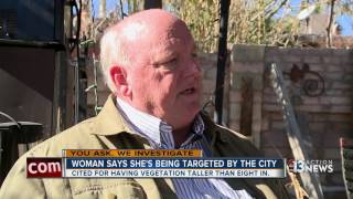 Las Vegas woman going against city over nuisance property