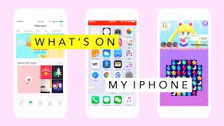 Video What's On My iPhone❗️ download MP3, 3GP, MP4, WEBM, AVI, FLV Desember 2017