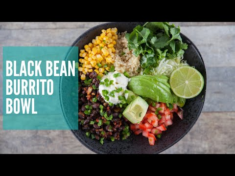 Black Bean Burrito Bowl | GCBC12 Ep16