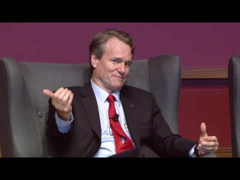 Energy Investments Dialogue - Brian Moynihan and Sally Benson