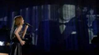 All the Way - Celine Dion and Frank Sinatra LIVE.avi