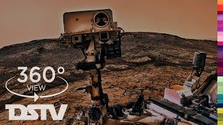 MARS CURIOSITY AT THE NAUKLUFT PLATEAU | 360° SPACE VIDEO