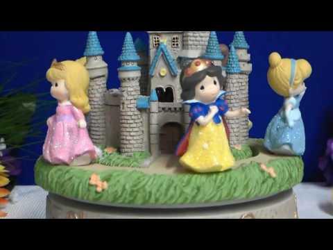 Precious Moments Disney Rotating Princess Castle Musical