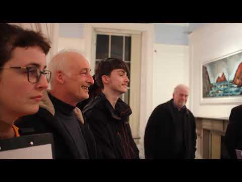 Rod Coyne, solo show @ The Origin Gallery, Dublin, 8th March 2018.