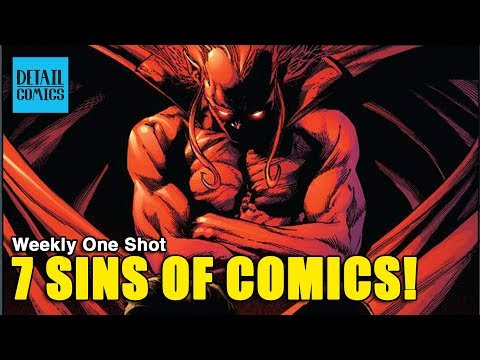 What Makes A Comic Book Bad? 7 Comic Book Writing Sins || Weekly One Shot