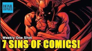 What Makes A Comic Book Bad? 7 Comic Book Writing Sins    Weekly One Shot