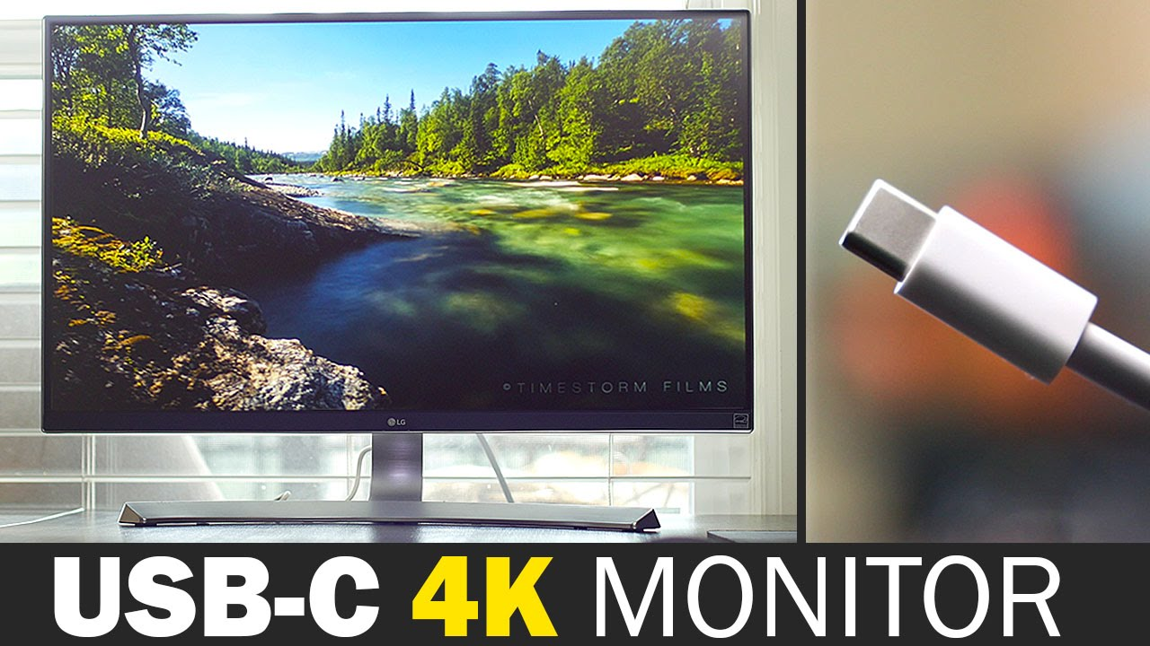 Lg 27ud88 W Usb C 4k Monitor Review Youtube