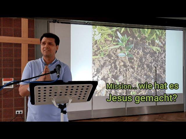 Mission 4 - Wie hat es Jesus gemacht - Gemeinde Jesu bauen vor Ort in Mutterstadt + Umgebung