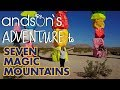 Andson's BUDGET FRIENDLY BUCKET LIST -  Seven Magic Mountains