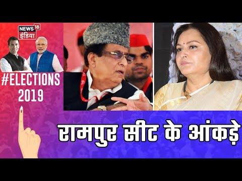 Rampur सीट के Exit Poll आंकड़े, Azam Khan और Jaya Prada के बीच मुकाबला   Exit Poll 2019