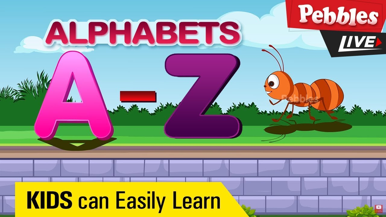 Learn English Alphabet A to Z | ABC Preschool Learning |Learn Alphabet / Alphabets With Characters - YouTube