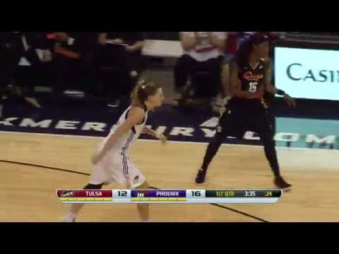 Game Recap: Tulsa Shock vs Phoenix Mercury