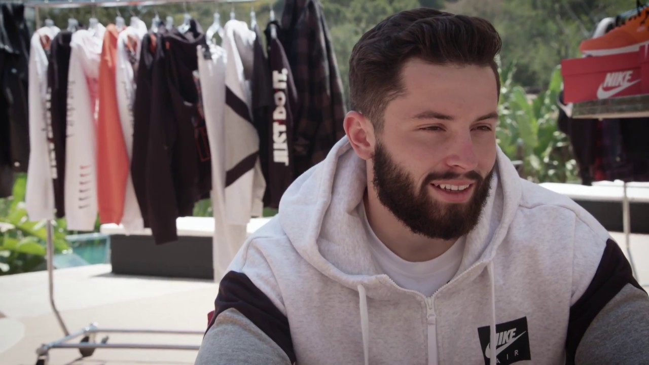 size 40 f3cdf 3a250 Baker Mayfield Reviews the Air Max 1 JDI | Refresh Your Game Ep. 2 | Champs  Sports + Nike