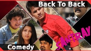 Santray Hyderabadi Full Movie Back To Back Comedy || Mast Ali, Akbar Bin Tabar, Mohsin Ahmed