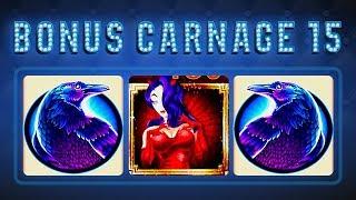 Bonus Carnage 15 - Wonder 4 Tower Wicked Winnings II Slot - $10 Max Bet!