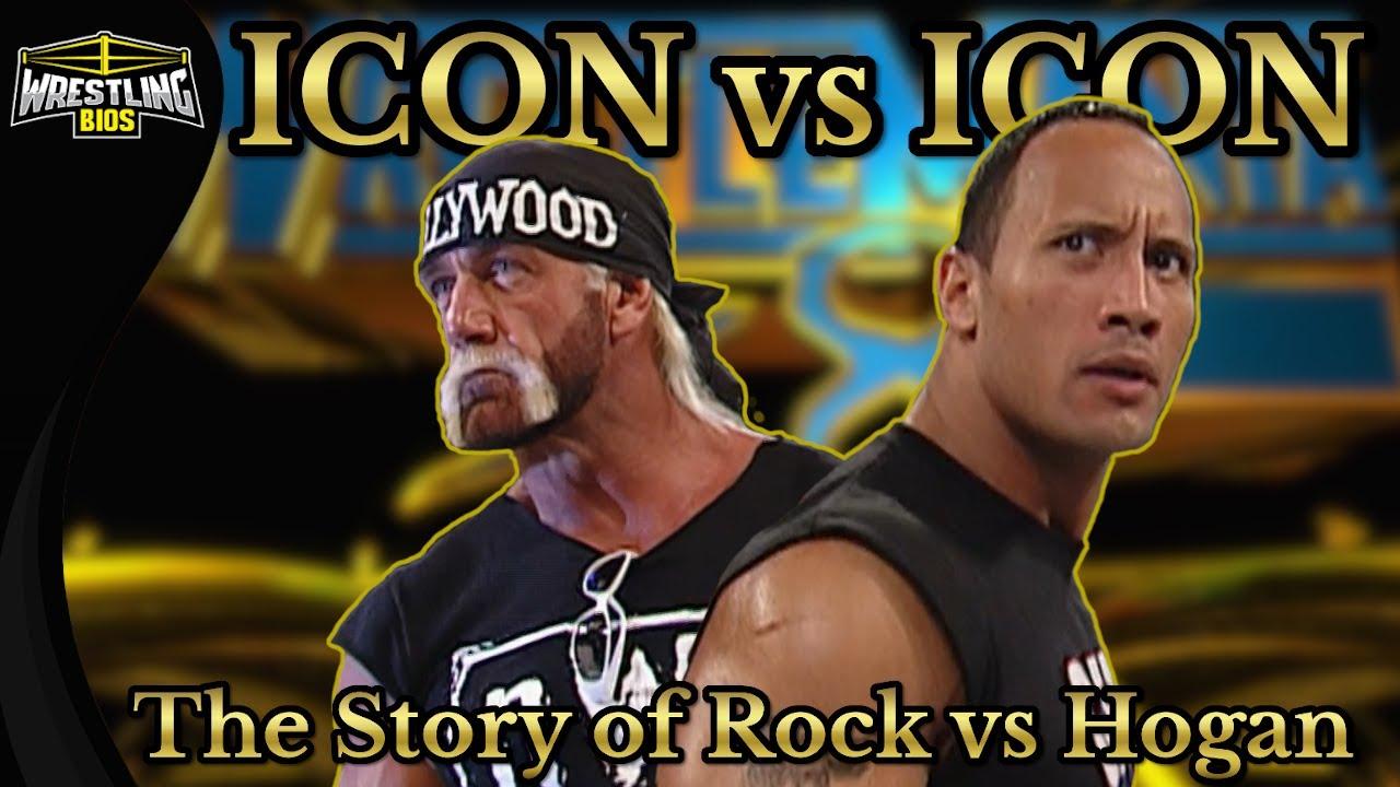 ICON vs ICON - The Story of Hulk Hogan vs The Rock