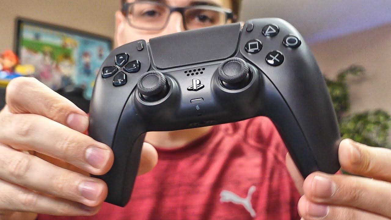 Testando Minha Câmera Nova no Unboxing do DualSense Preto | Controle do PS5