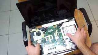 asus x550 SSDHDD upgrade