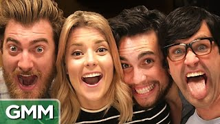 YouTuber Trivia Game ft. Grace Helbig & Chester See