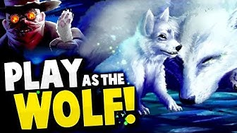 PLAYING AS A WOLF! HUNT OR BE HUNTED - Brand New Wolf Sim Adventure! - Nocturnal Hunt Gameplay