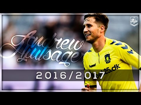 Andrew Hjulsager 2016/2017 | Brøndby IF | HD | 1080p