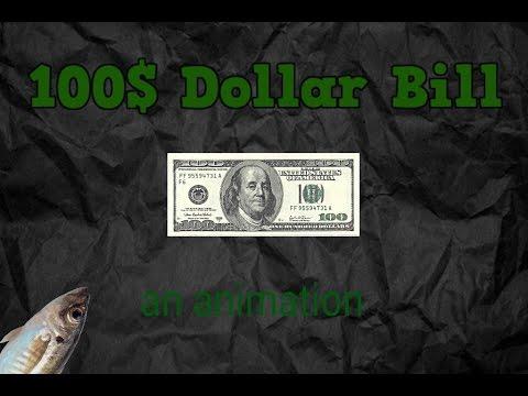 100$ Dollar Bill - an animation