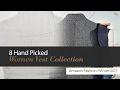 8 Hand Picked Women Vest Collection Amazon Fashion, Winter 2017