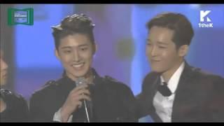 151107 iKON wins- Best New Artist Male(2015 MMA MelOn Music Awards)