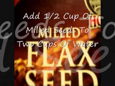 how to cook milled flax seed