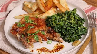 My Classic Pork Chop with Broccoli Rabe Dinner | Ep 1331