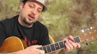 Eric Church Hell on the Heart - Easy Beginner Country Songs on Acoustic Guitar Lesson