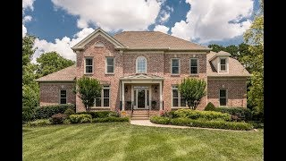 Brentwood TN Executive Home for Sale With Basement and Private Yard