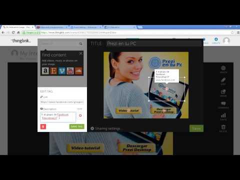 Elaborando imagenes interactivas con Thinglink