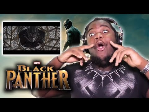 BLACK PANTHER OFFICIAL TRAILER : REACTION!!!