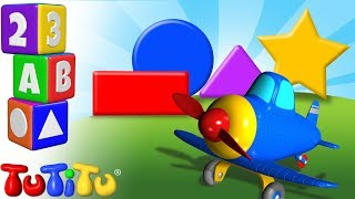 TuTiTu Preschool | Learning Shapes for Babies and Toddlers | Airplane