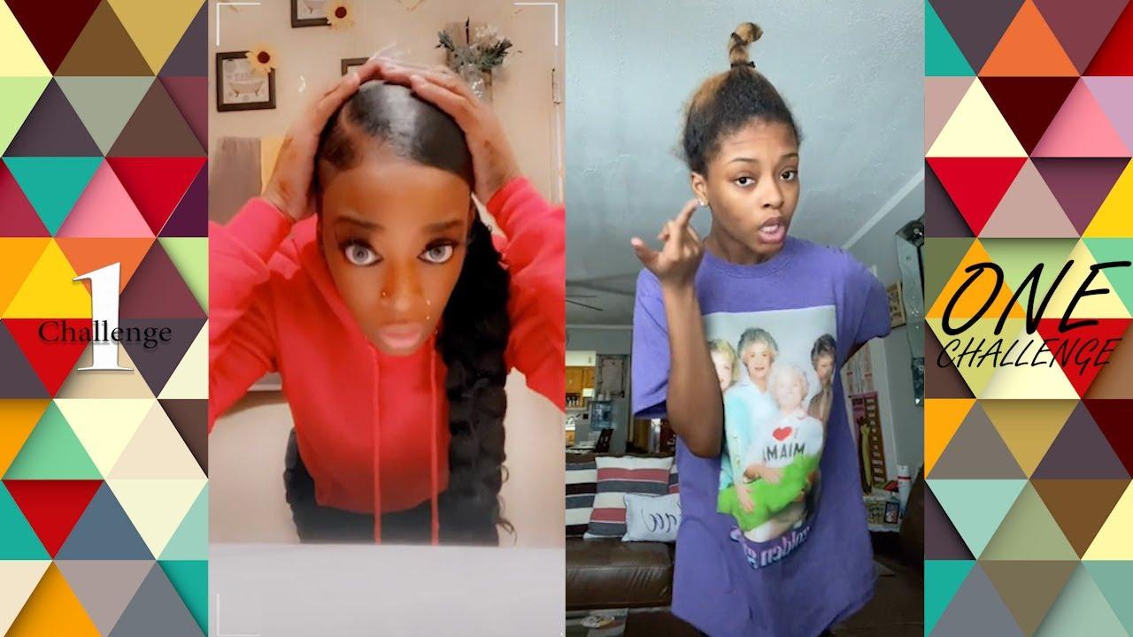 My Hair, It Don't Move Challenge Dance Compilation #myhairitdontmove #gorillagluegirl