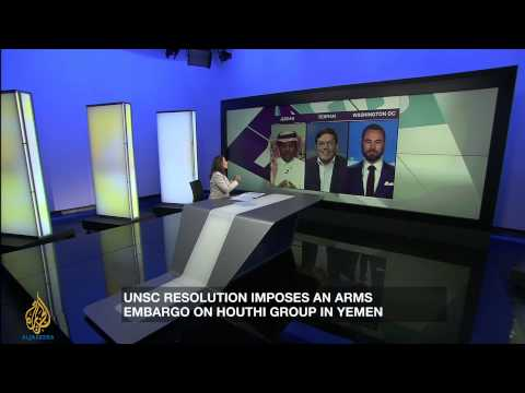 Houthis: Can an arms embargo deter them?