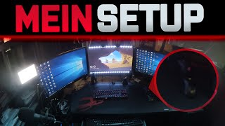 Gaming & Streaming Room Tour Setup 2016 - So zockt er!
