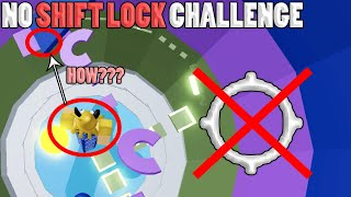 NO SHIFT LOCK CHALLENGE!! HOW??? | Tower of Hell ROBLOX