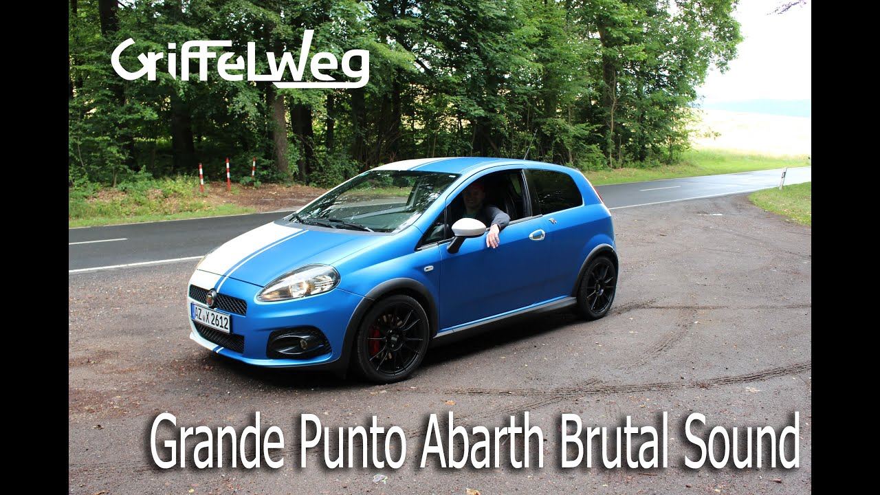 fiat grande punto abarth sound auspuff bull x youtube