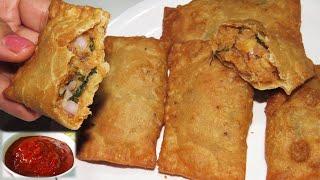 गेहूं के आटे और आलू से बनाये टेस्टी कुरकुरा नाश्ता जिसे मिनटों में सब चट कर जाये Tasty Potato Nashta