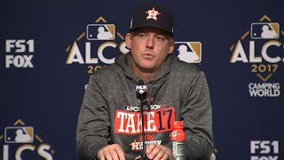 ALCS Gm3: Hinch On Morton's Rough Outing In 8-1 Loss
