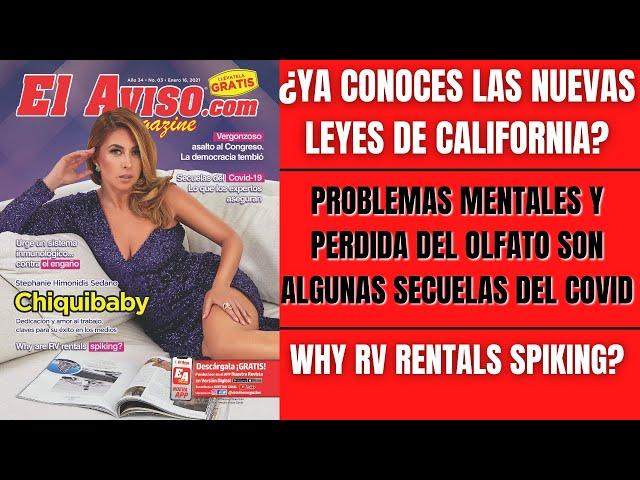 Chiquibaby en la portada de El Aviso Magazine