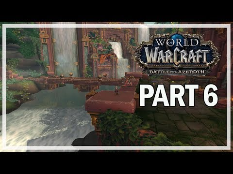 World of Warcraft Battle for Azeroth - Let's Play Part 6 - Crimson Forest